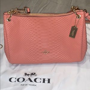 Coach pink Crossbody Bag / Purse & Coin purse NWOT